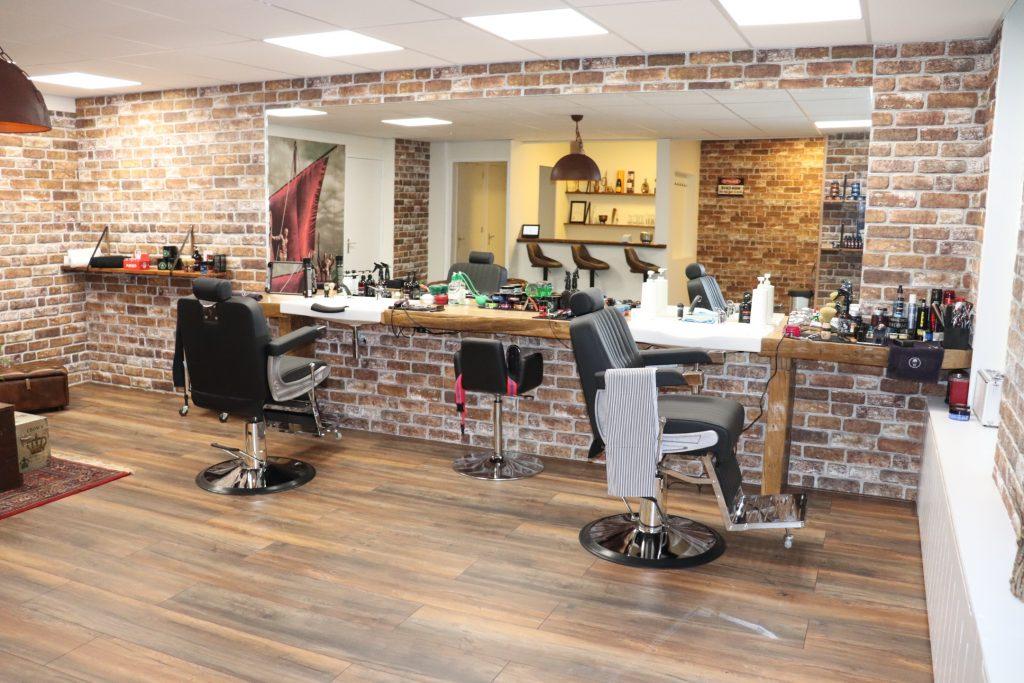Interieur van de barbershop